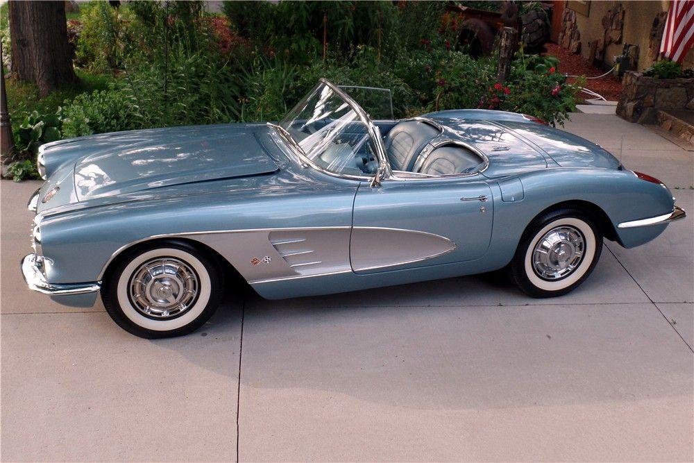 Jim & Chester's Garage Corvette, Two tone, Sweet ride
