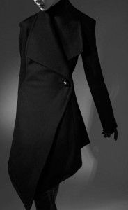 Verlaine Wool Felt Triangle coat