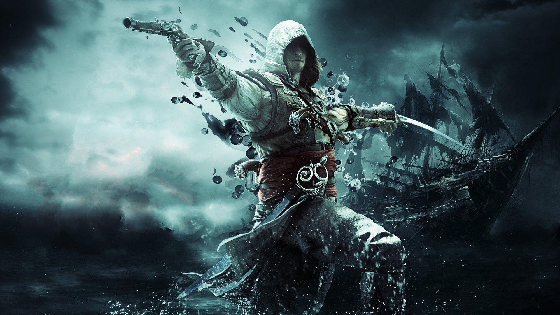 123 Assassins Creed IV Black Flag Papéis de Parede HD