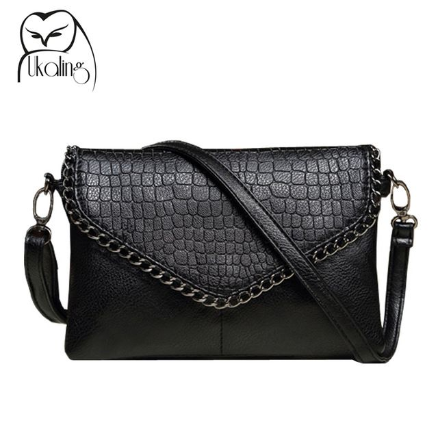 bec02be597 New Fashion Small Bag Women Messenger Bags Soft PU Leather Crossbody Bag  For Women Clutches Bolsas