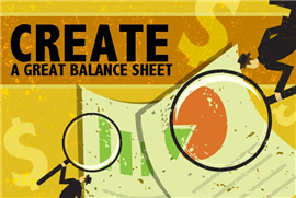 Create a Balance Sheets in 5 Simple Steps: http://premium.docstoc.com/article/149368666/