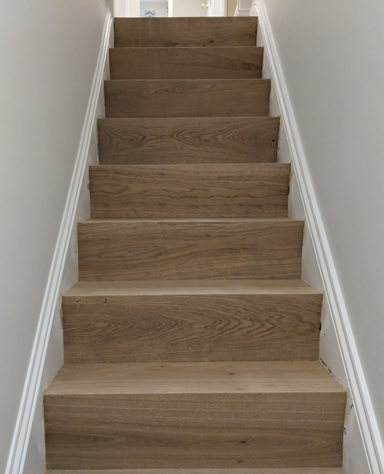 Best Stairs Clad In Oak In A Modern Style Stairs Cladding 400 x 300
