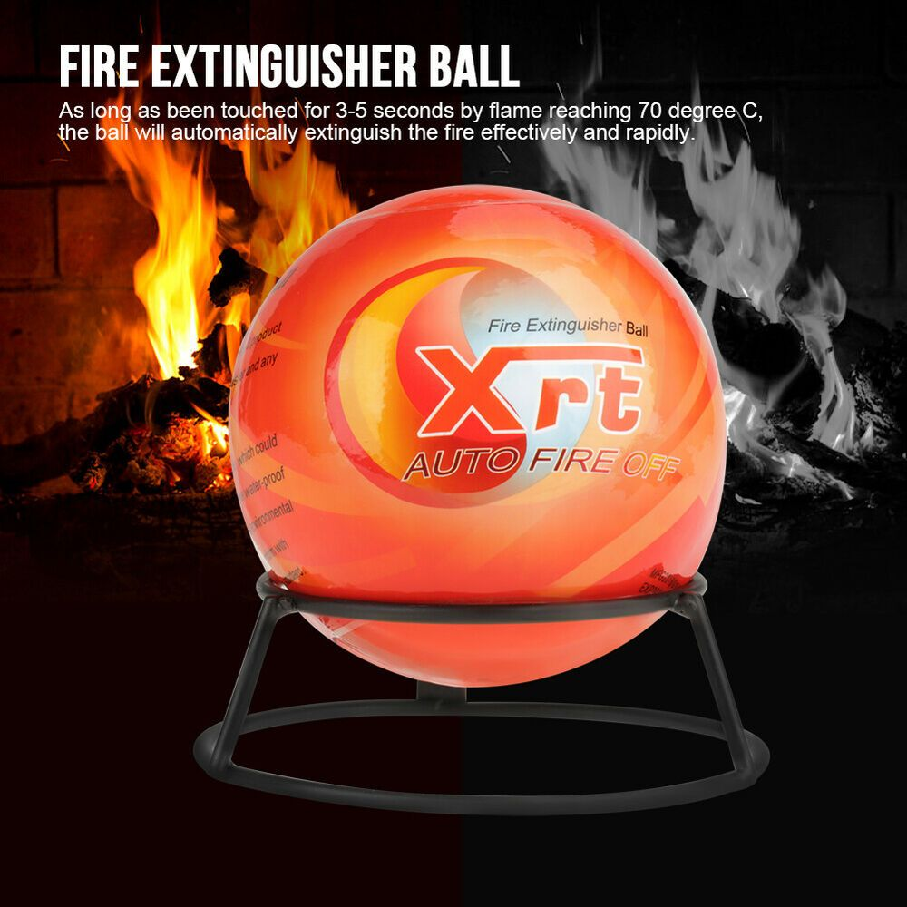 Sponsored Ebay Quickly Safety Fire Extinguisher Ball Easy Throw