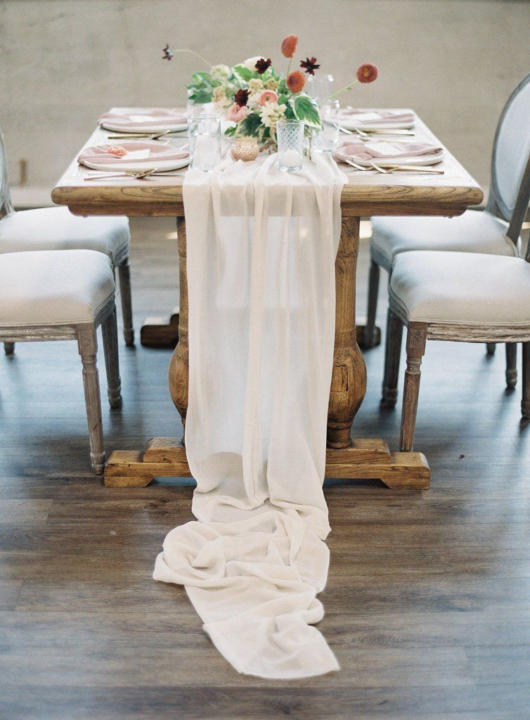 On Trend: Silk Table Runners