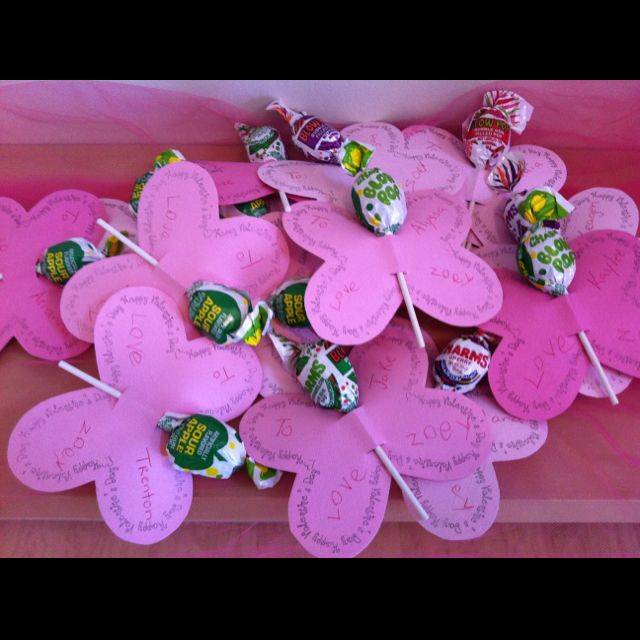 Butterfly Lollipop Valentines Cards for Zoey\'s Class | Crafts I\'ve ...