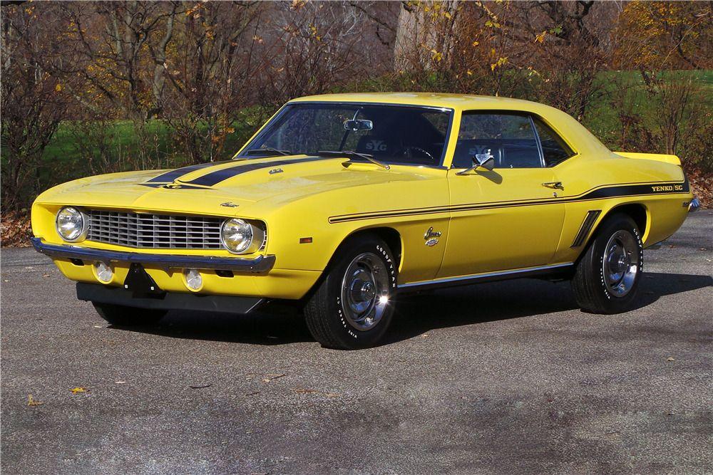 1969 CHEVROLET CAMARO YENKO  –  – Barrett-Jackson Auction Company – World's Greatest Collector Car Auctions