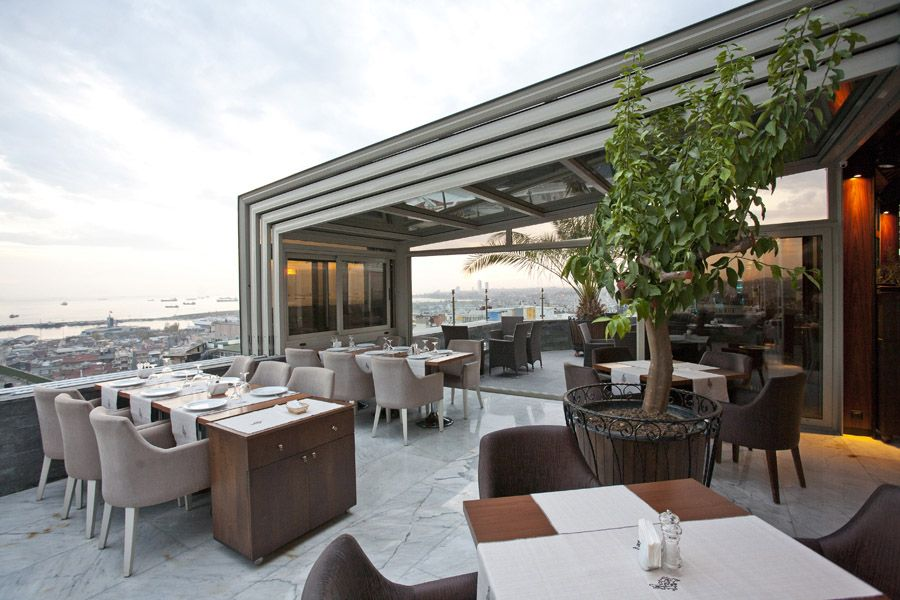 Pool enclosure commercial restaurant enclosure for 211 roof terrace cafe