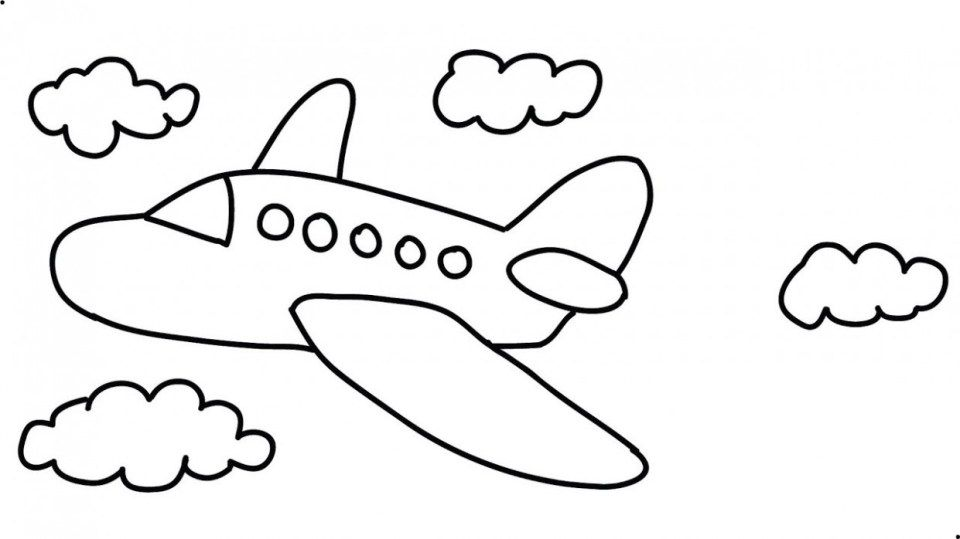11 Doubts You Should Clarify About Airplane Drawing Cartoon