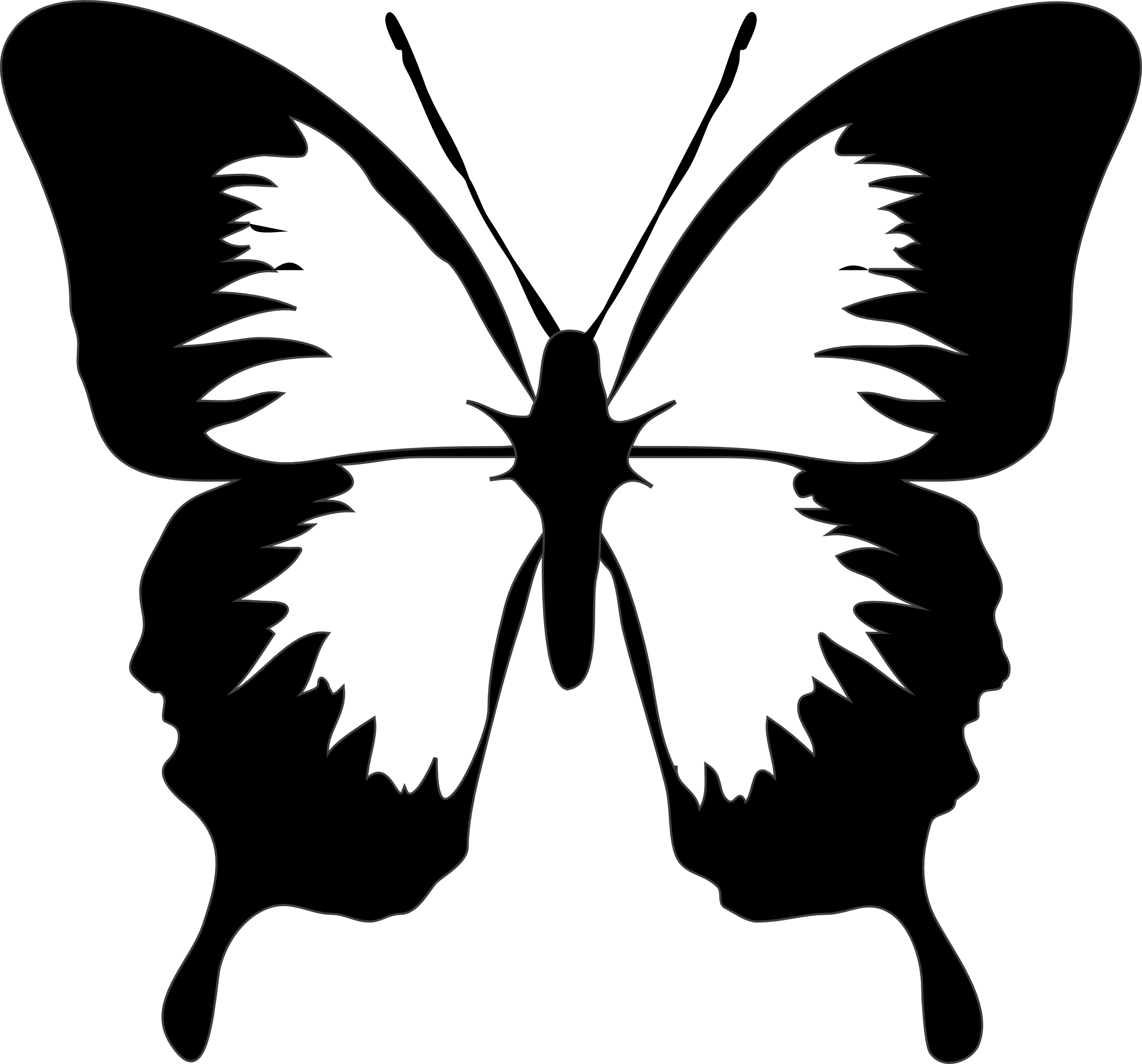 butterfly clip art black and white clipart panda free clipart rh pinterest com cute butterfly clipart black and white butterflies clipart black and white