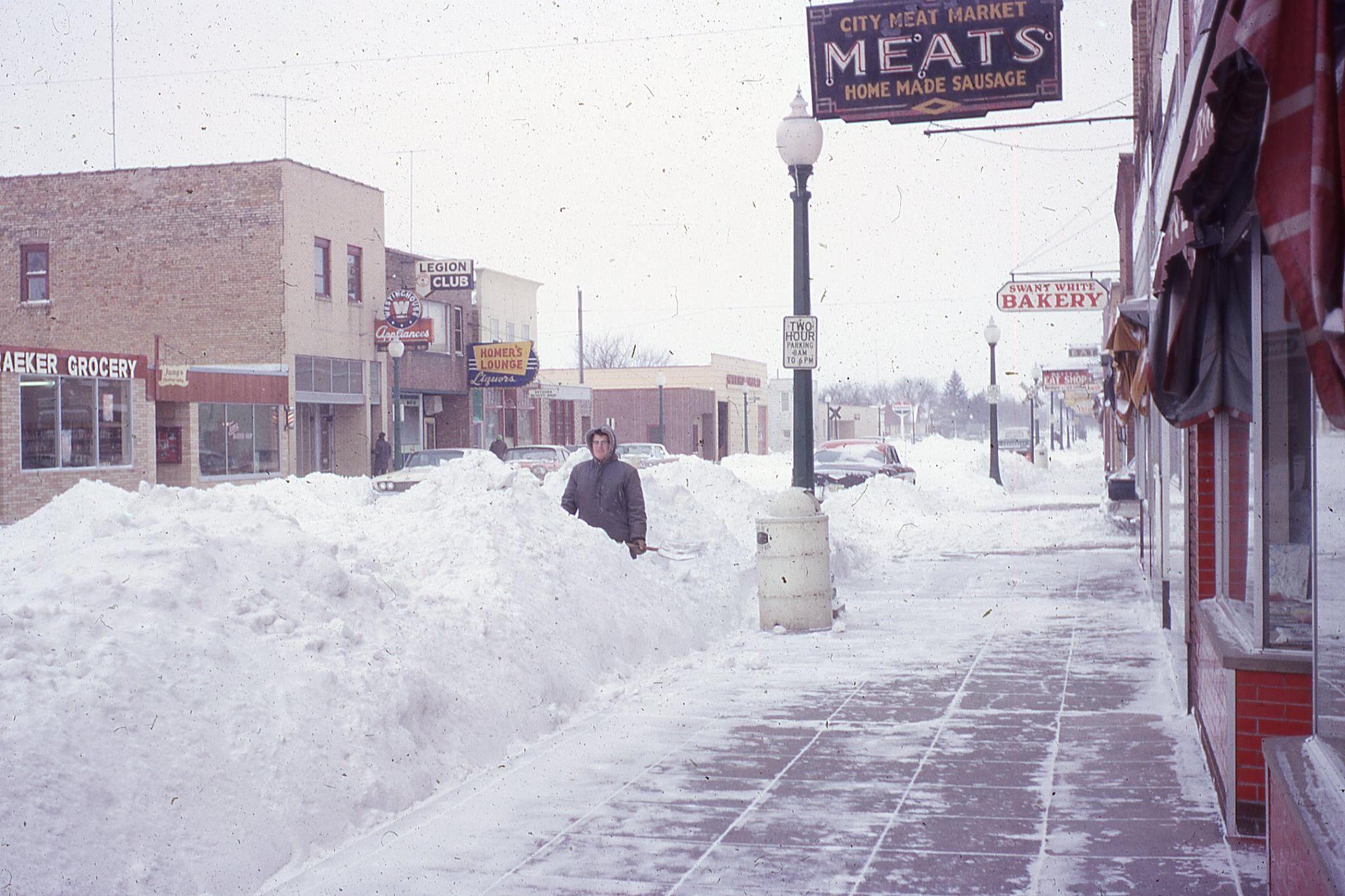 Winter In Melrose Minnesota 1970 S I Think Minnesota