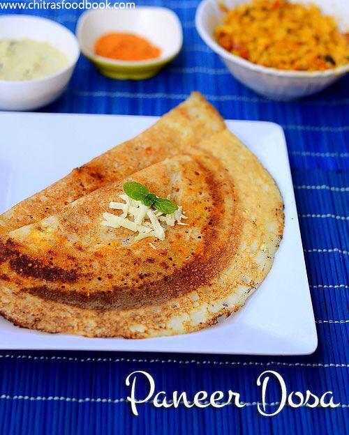 Paneer dosa recipe recipes indian breakfast and food paneer dosa north indian recipessouth indian foodindian forumfinder Image collections