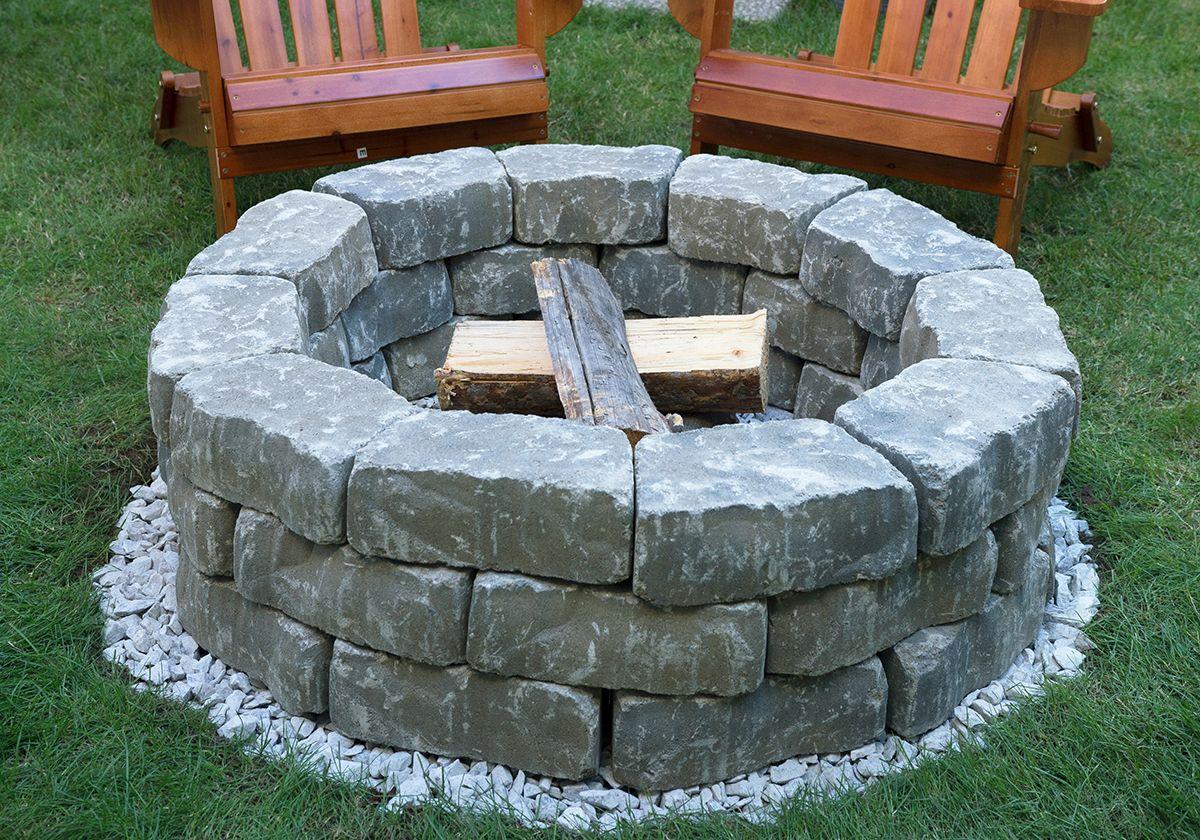 Diy Backyard Fire Pit Build It In Just 7 Easy Steps Https Www