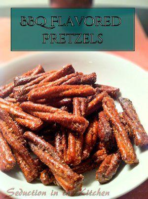 BBQ Flavored Pretzels