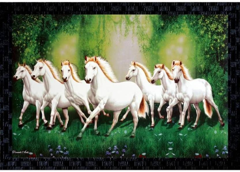 Pin By Poonam Dursun On Canvas Painting Horse Canvas Painting White Horse Painting Running Horses