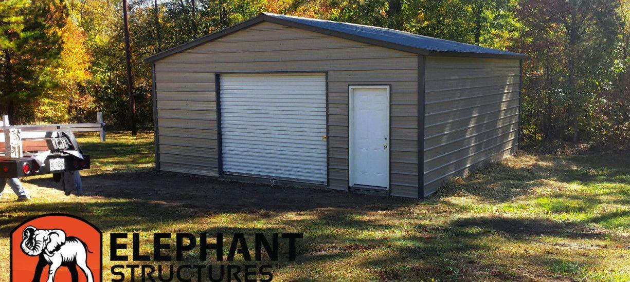 Metal Garages Make Life Easier