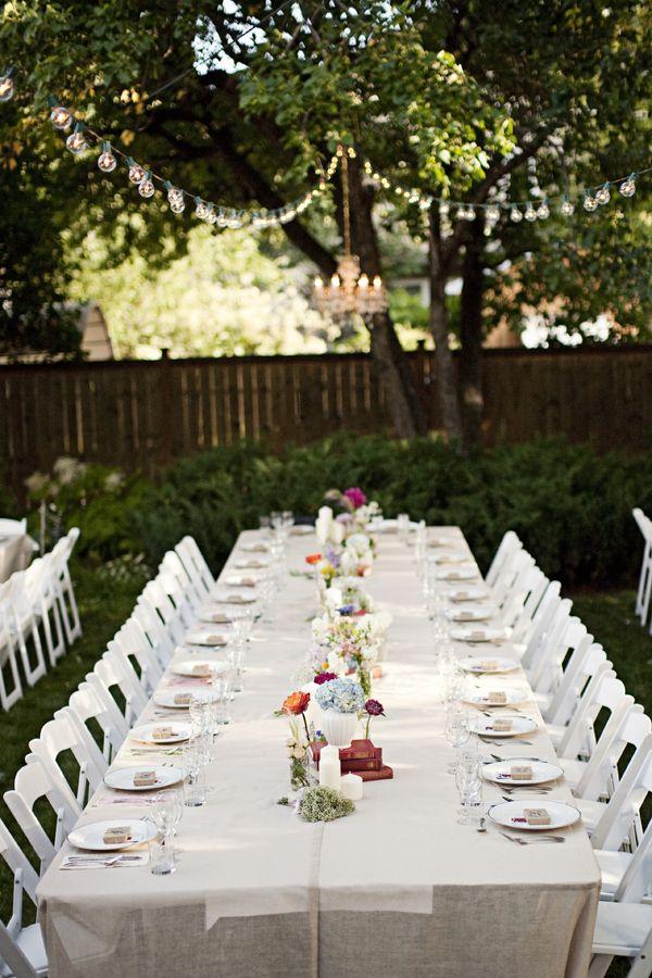 Genevieve Joel 39 S Canadian Backyard Wedding Backyard