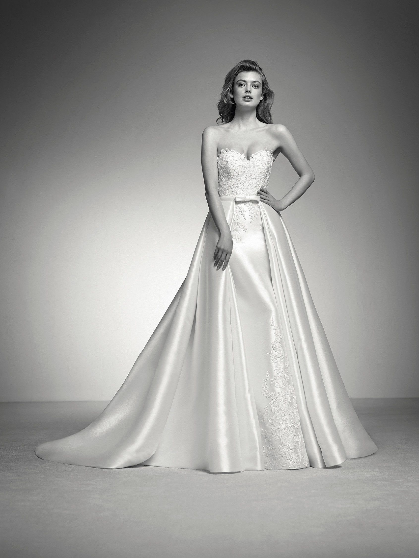 Brautkleid abnehmbarer Rock | Wedding Dresses | Pinterest ...