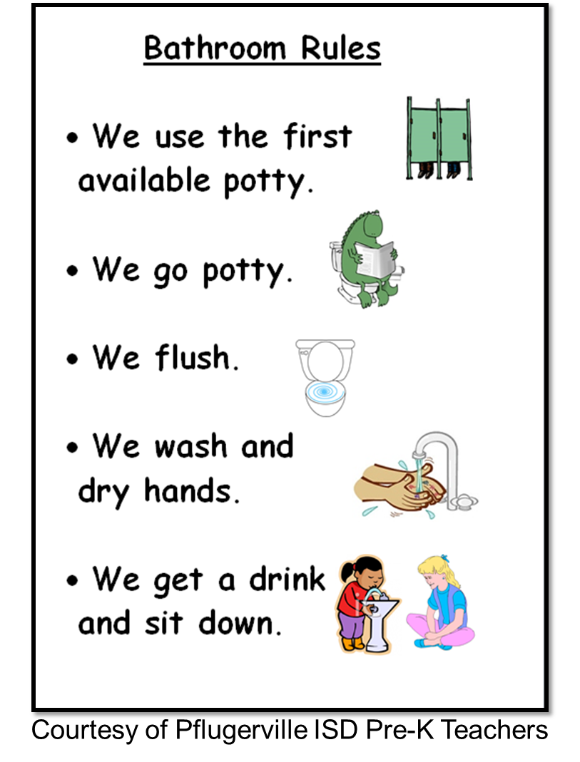 Kindergarten Bathroom Procedures Related Keywords Suggestions