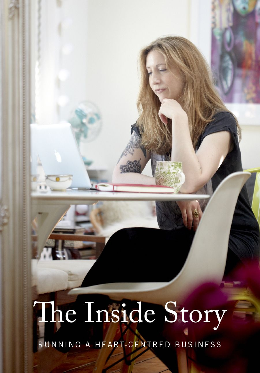 My latest class: The Inside Story: Running a Heart-Centred Business