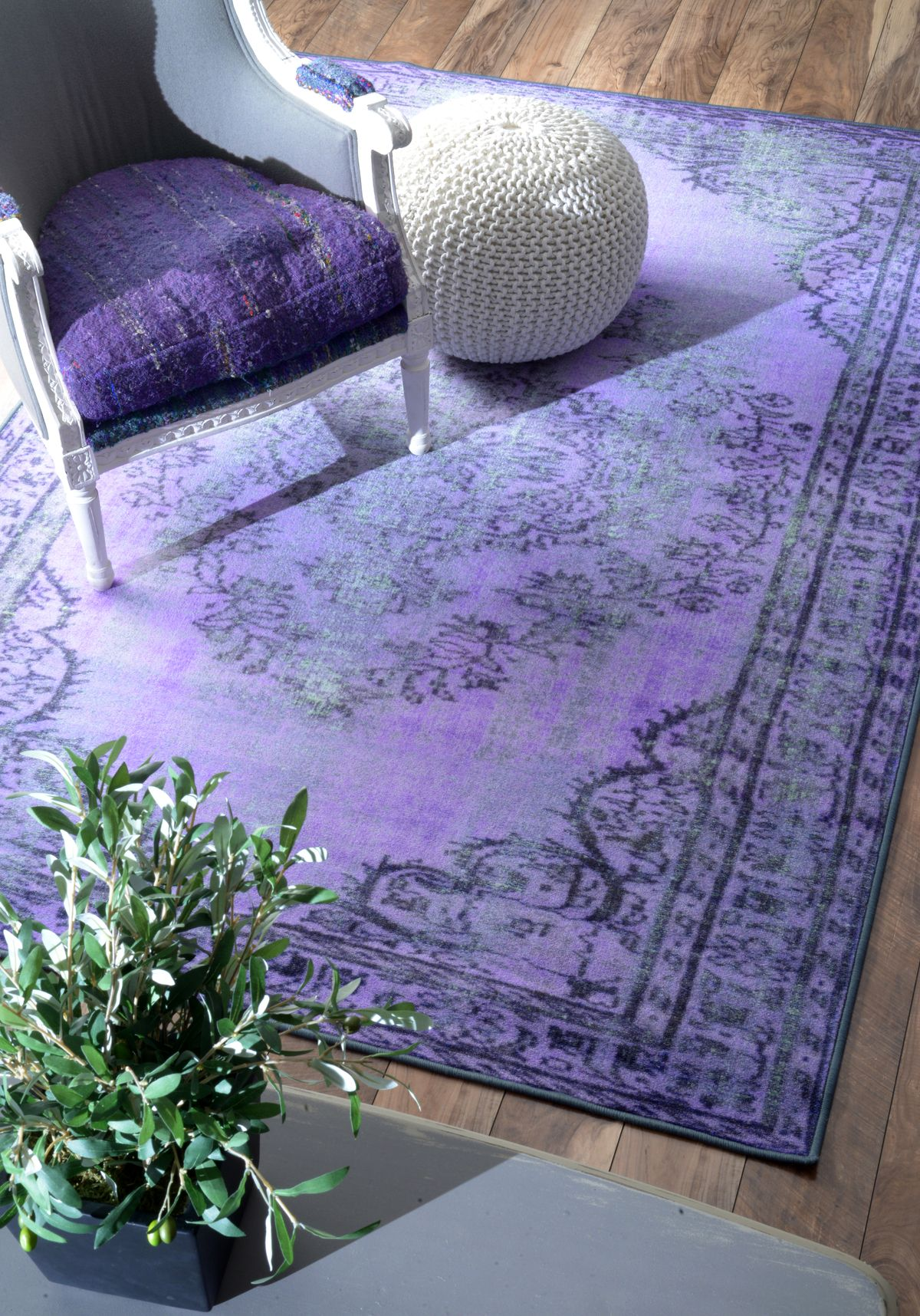 41 Purple Area Rugs Ideas