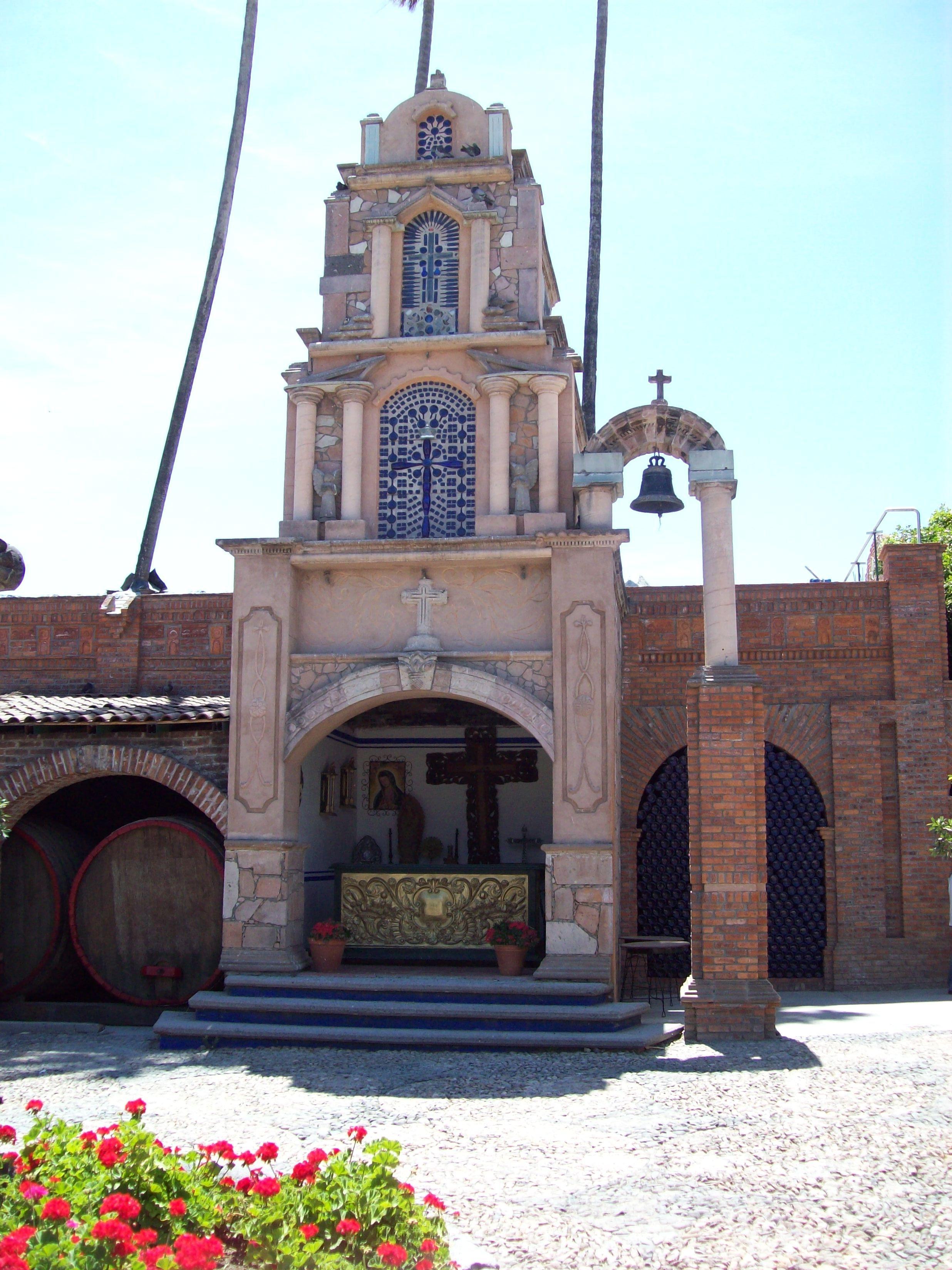 CAPILLA EN HACIENDA DE CORRALEJO EN PENJAMO, GUANAJUATO. MÉXICO