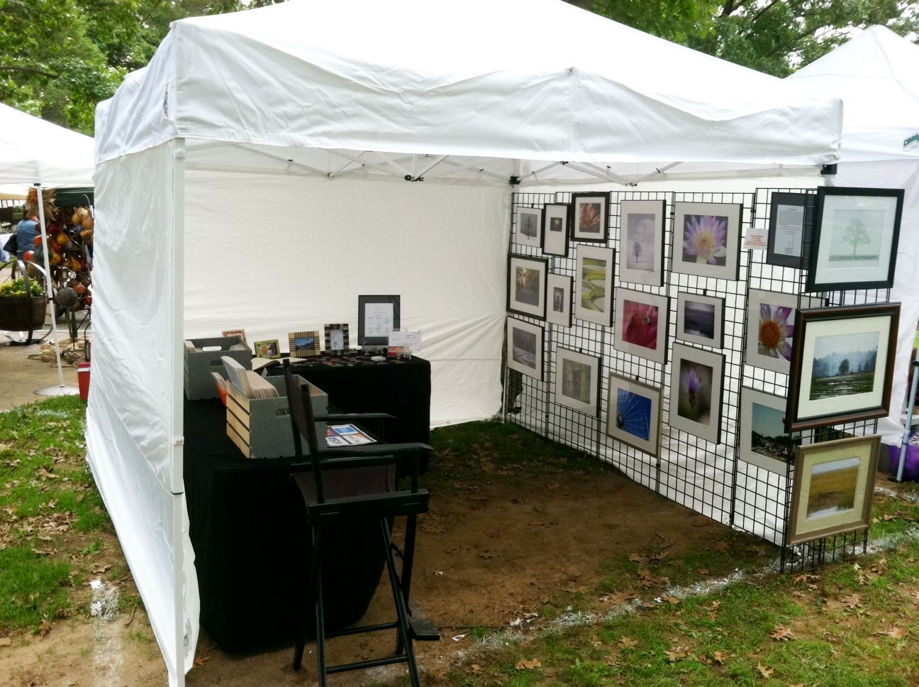 Art Show Booth Posted By John Sturgis On September 27