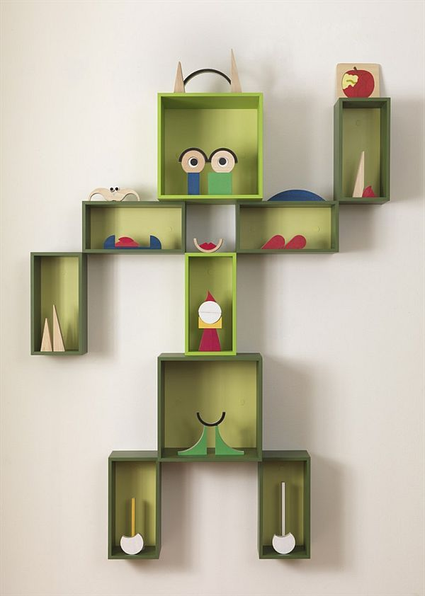 Wonderful The Funny And Friendly Box Wall Cabinet For Kids