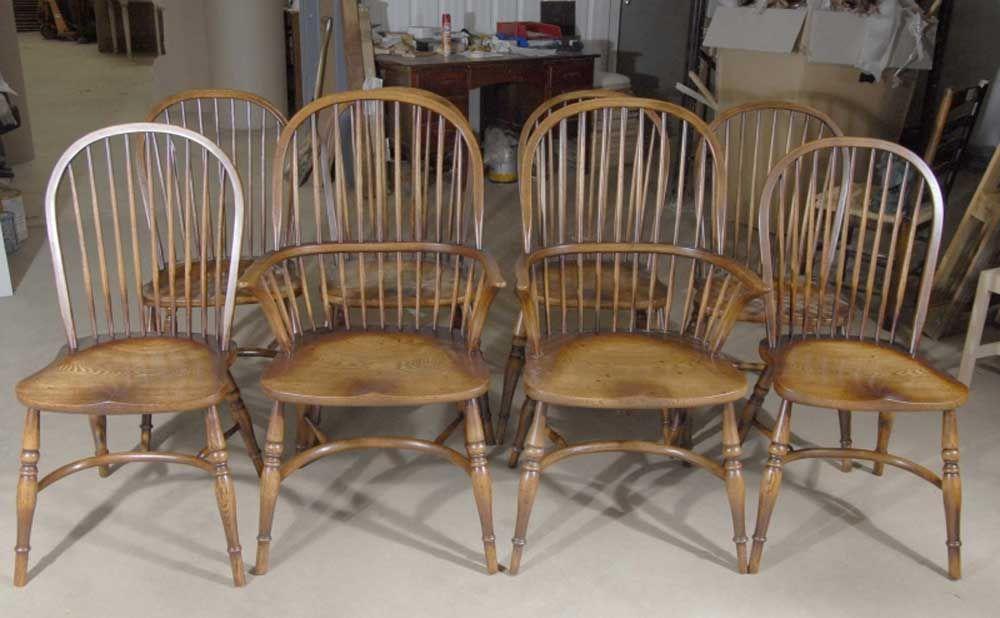 oak farmhouse chairs chrome dining uk 8 english windsor chair pinterest