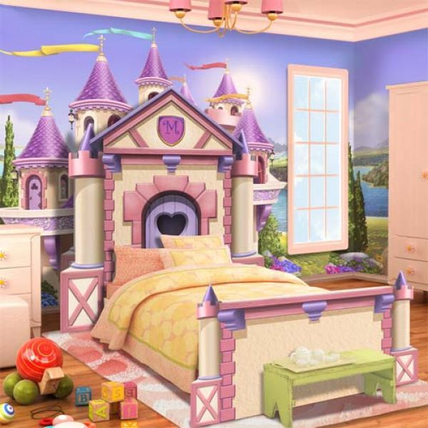 Fairest Princess Of All Twin Castle Bed From PoshTots