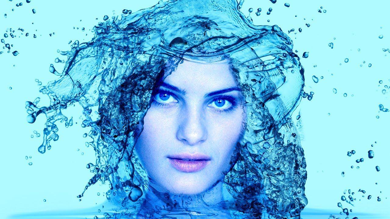 Tutorial Photoshop Cs6 Mulher De Agua Water Effect 1000