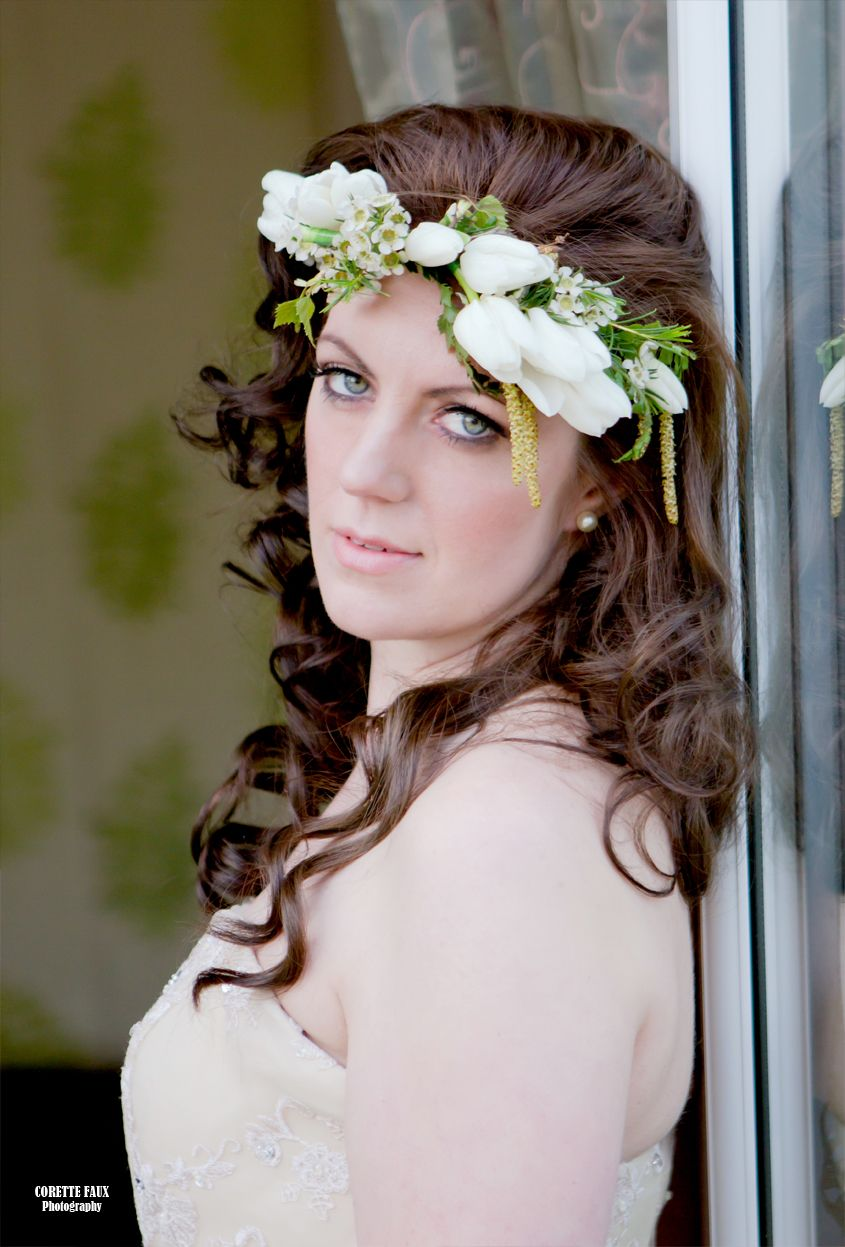 Ferny woodland inspired wedding flower crown by joanne truby floral ferny woodland inspired wedding flower crown by joanne truby floral design izmirmasajfo