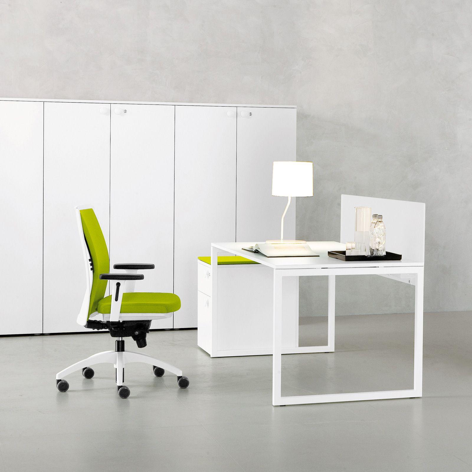 Frame high white office cabinet   OFFiCE STORAGE   Pinterest   White ...