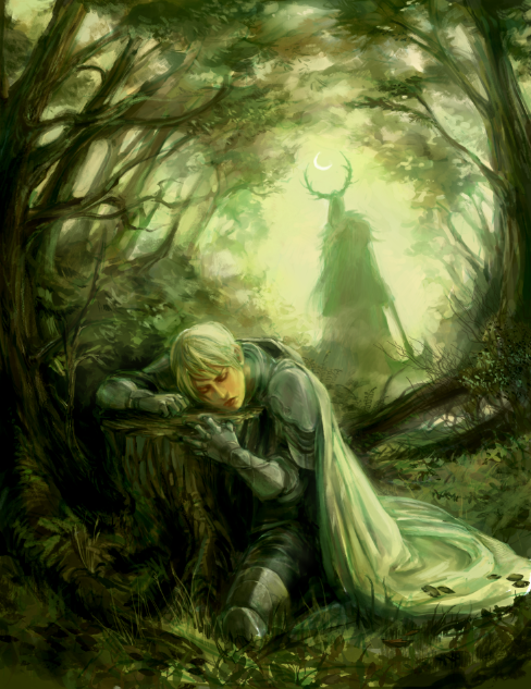 Sir Gawain & the Green Knight [from blackrainbowz.tumblr]