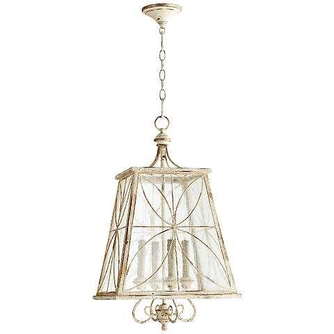 "Quorum Charme 15 1/4"" Wide Persian White Pendant Light - #2Y146 | www.lampsplus.com"