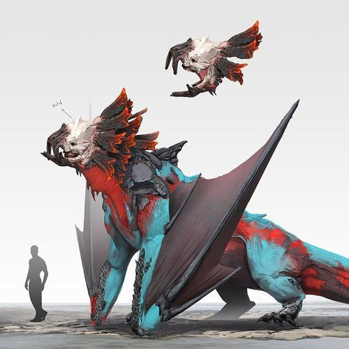 Top 50 2D and 3D creatures from 2018 · 3dtotal · Learn | Create | Share