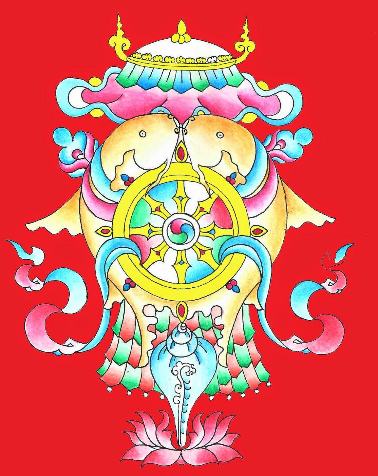 The eight auspicious symbols 8 auspicious symbols pinterest the eight auspicious symbols biocorpaavc Gallery
