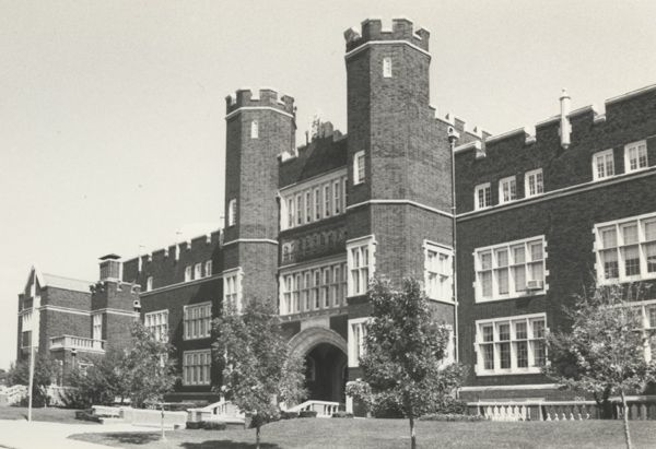 Grover Cleveland High School St Louis Vintage Photo S