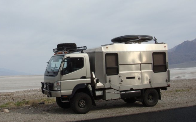 La Aduana: Fuso 4x4 with Custom Camper - Other - ExPo ...