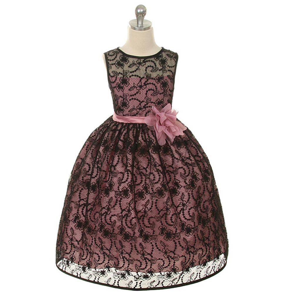 Black n red dress 2t