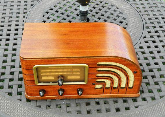 Antique 1938 General Electric Radio Model F63 by RobsAntiqueRadios