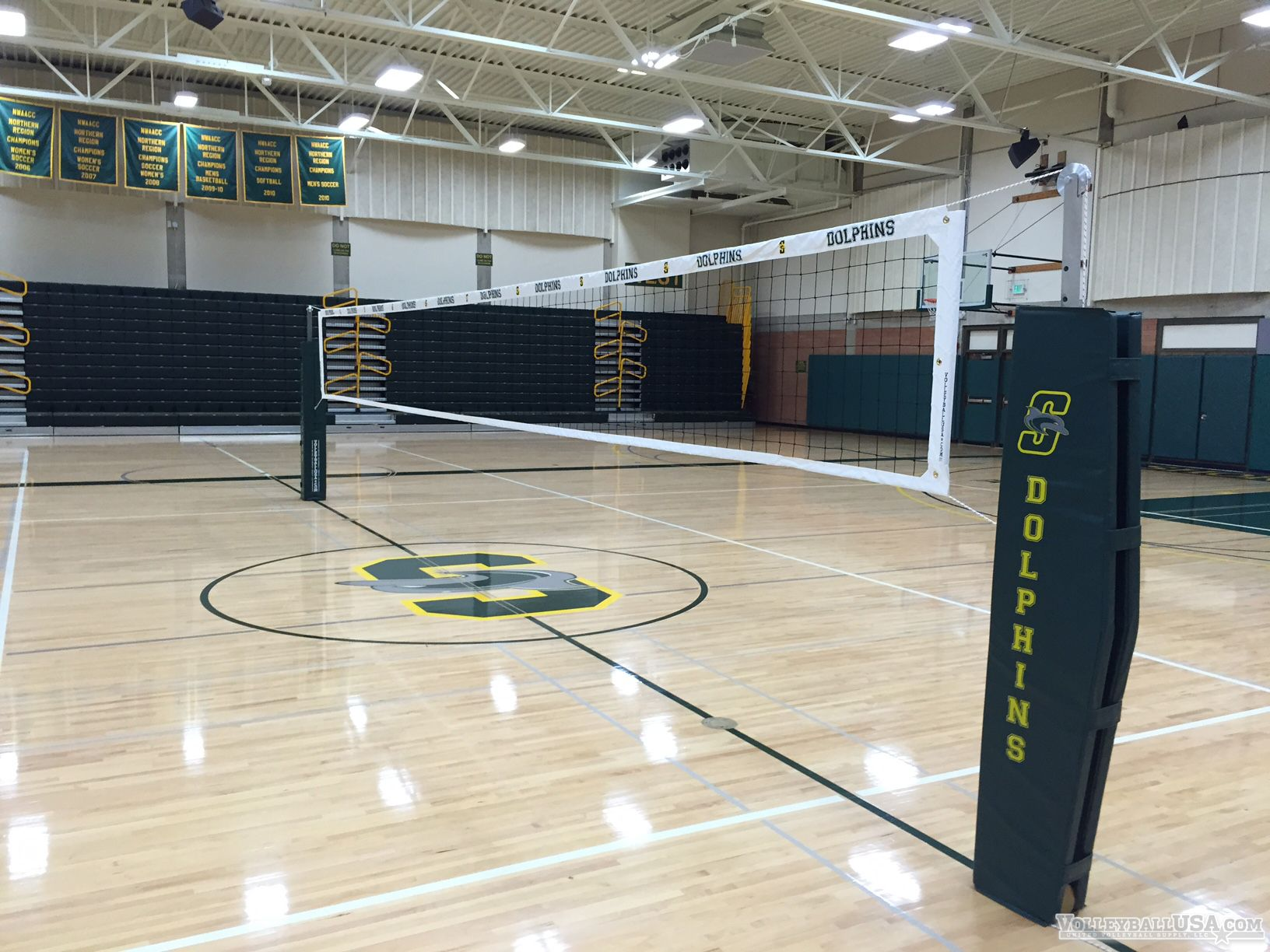 High School Volleyball Court System Volleyball Volleyball Equipment Volleyball Nets