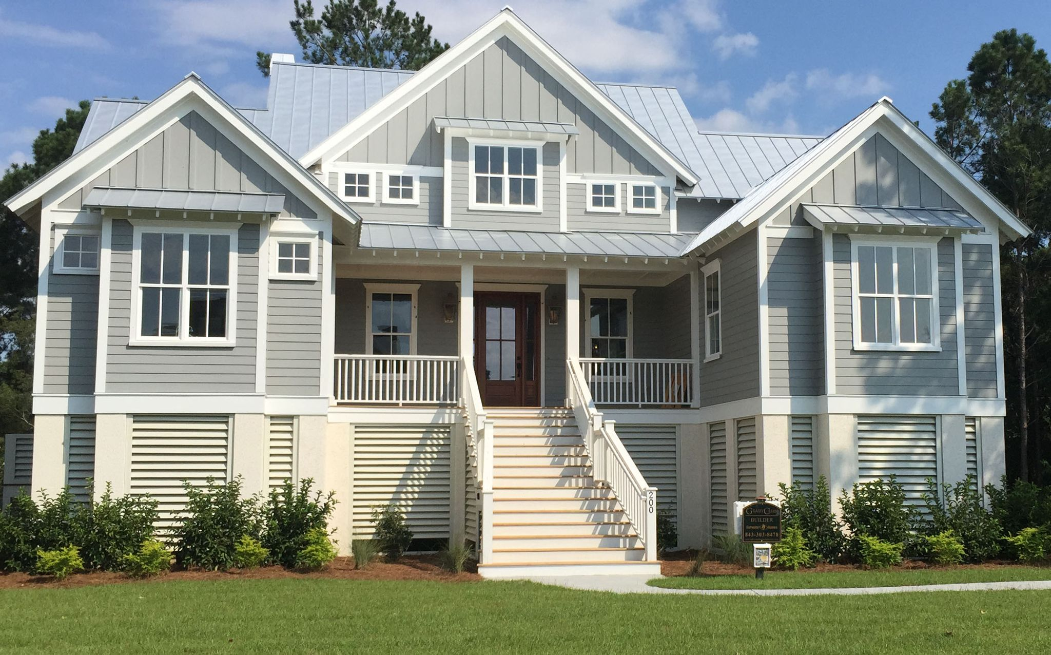 Affordable Custom Home Plans, Specializing In Coastal And Elevated Homes.  Purposeful, Affordable, Coastal Cottage Home Plans.