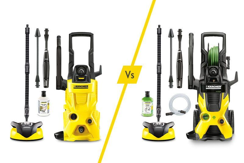 Karcher Pressure Washers K4 Vs K5 What Is The Difference Pressure Washer Washer Pressure