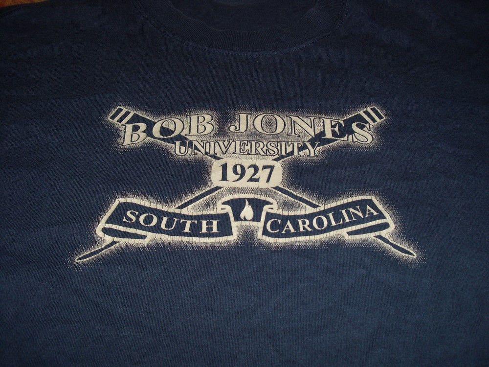 Bob Jones University 1927 South Carolina Rowing Oarsmen t-shirt Medium