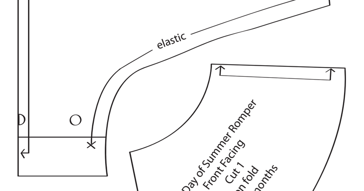 TheFirstDayOfSummerRomperPatternFinal.pdf | costura | Pinterest ...