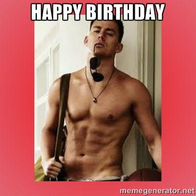 Channing Tatum Birthday Memes
