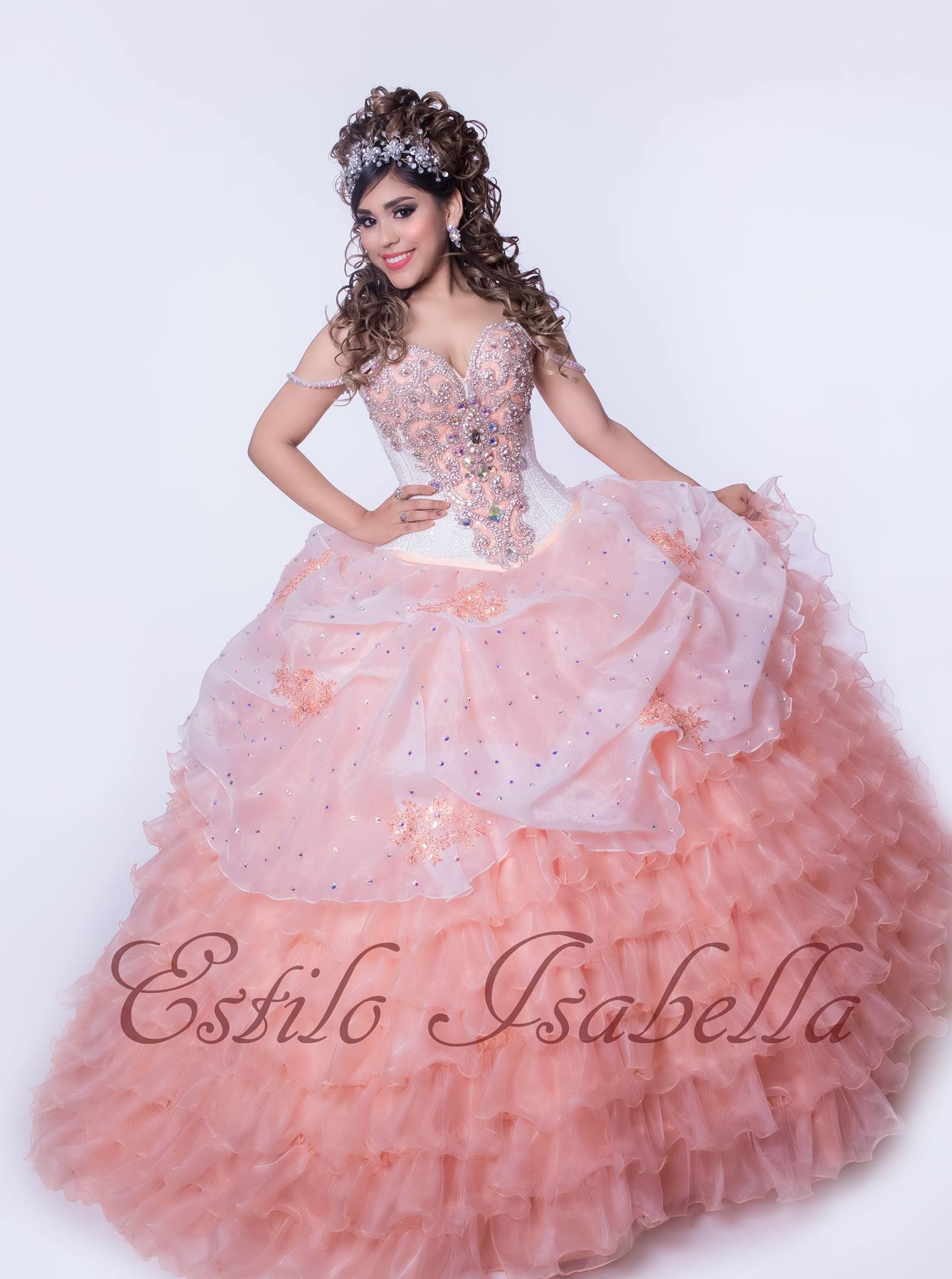 Quince dress #estiloisabella more info 979-635-0477 | Estilo ...