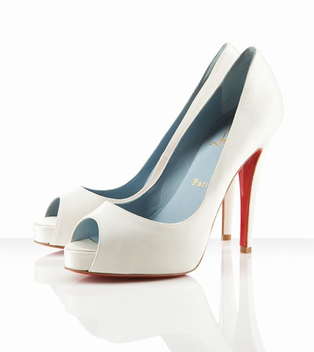 466bf72bd59 Christian Louboutin Very Prive 120mm Off White - 152