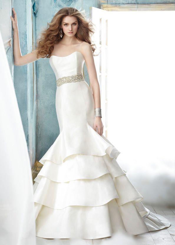 свадебные платья Jim Hjelm 2012