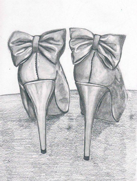 High heels drawing  posters  Pinterest  High heel Drawings and